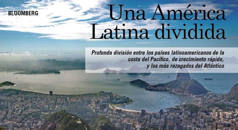 Una América Latina dividida entre Pacífico y Atlántico