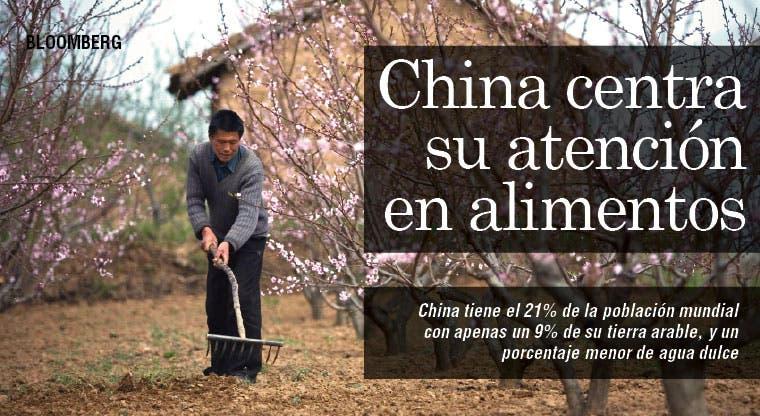 Alimentos reemplazan petróleo en adquisiciones chinas