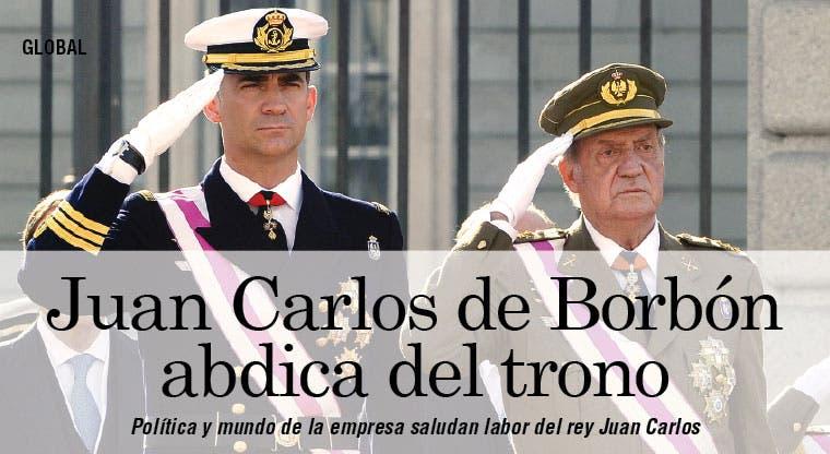 Política y mundo de la empresa saludan labor del rey Juan Carlos