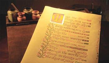 ¡Escriba sobre pergamino!