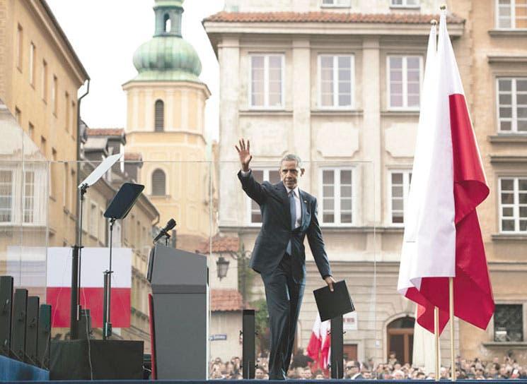 Obama reafirma apoyo a Europa del Este