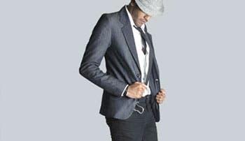 Moda masculina más ajustada