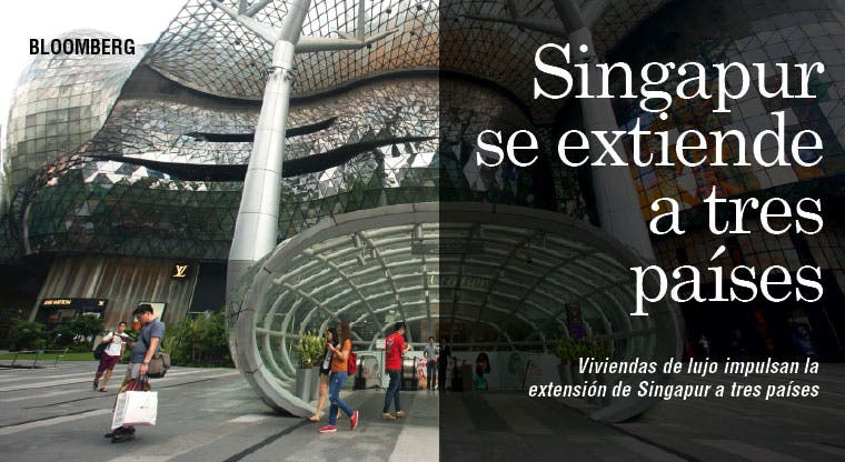 Viviendas de lujo impulsan expansión de Singapur