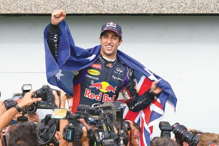 ¡Grandioso Ricciardo!