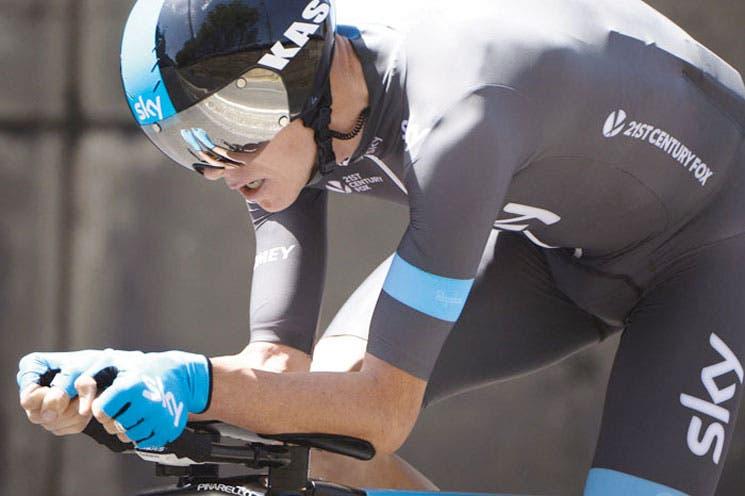 Froome hinca a Contador