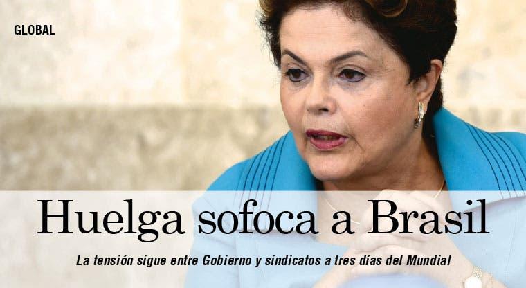 Huelga en Sao Paulo pone en aprietos a Brasil