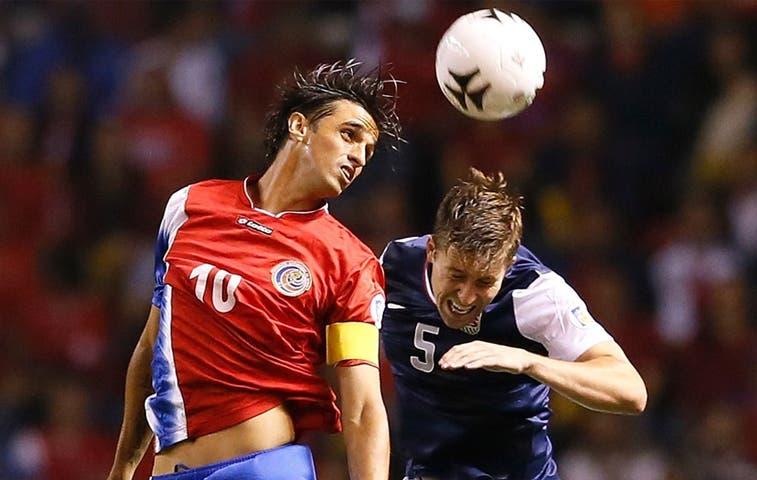 Costa Rica trampolín del grupo D