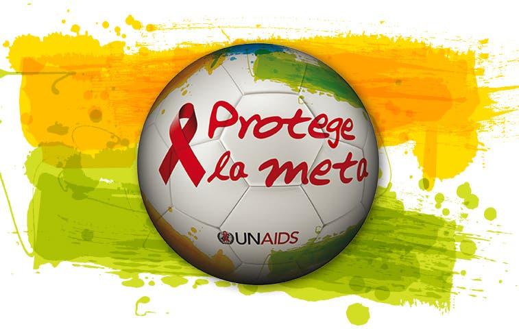 ONU promueve campaña contra el sida durante Mundial