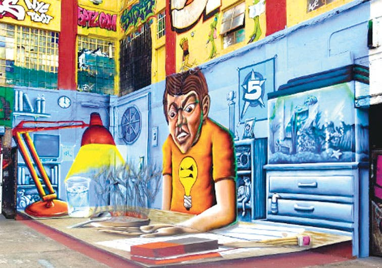 El arte callejero llega a Google