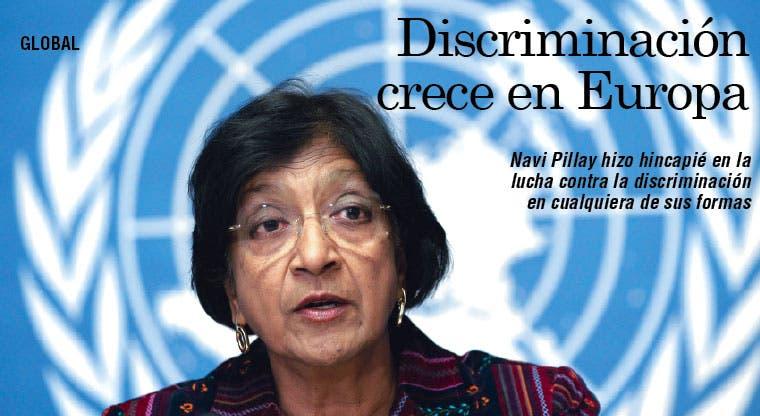 Discriminación es un problema global que crece en Europa