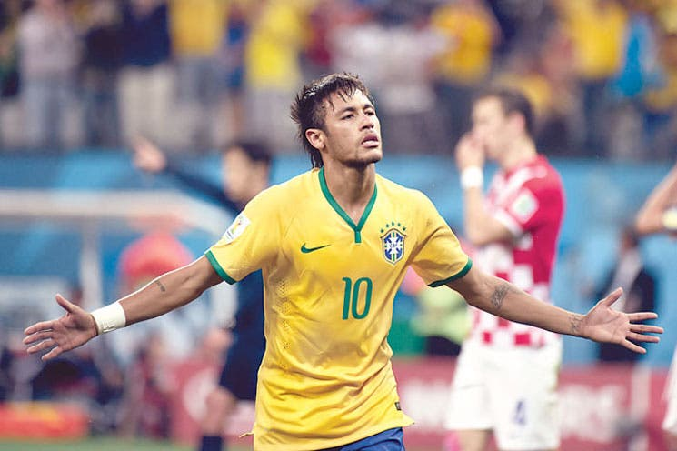 Brasil inició en serio