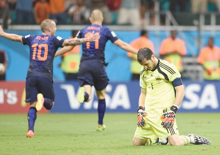 Holanda humilla a España