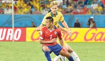 Chile cumple con sufrimiento
