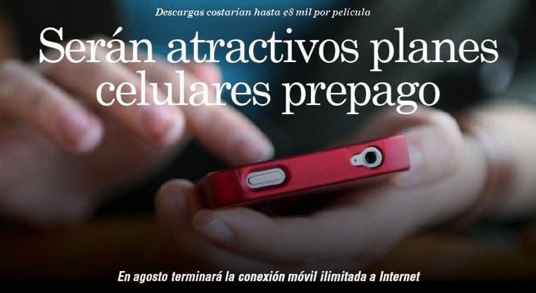 Serán atractivos planes celulares prepago