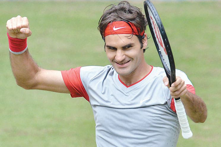 Federer ama Halle