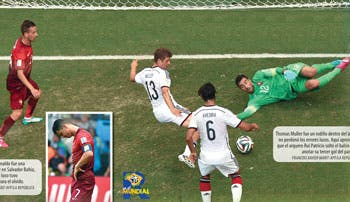 Muller arruina a Portugal