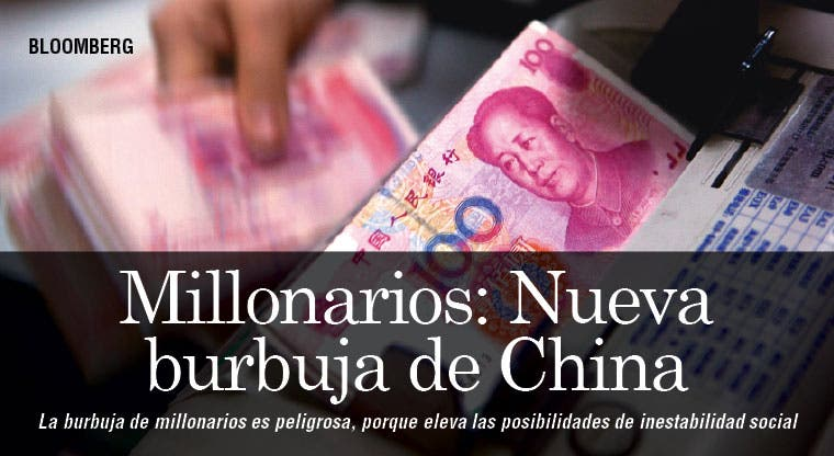 Millonarios constituyen la nueva burbuja de China