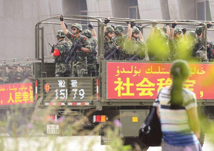 Tres condenados a muerte por el atentado cometido en Tiananmen en 2013