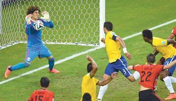 México se le atraganta a Brasil