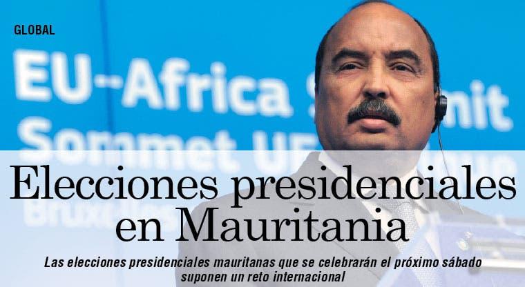 Elecciones presidenciales suponen reto internacional para Mauritania