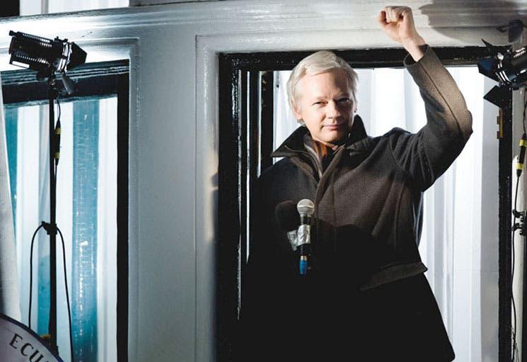 Assange cumple dos años refugiado en embajada