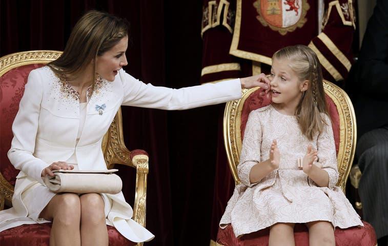 La heredera más joven de la Corona española