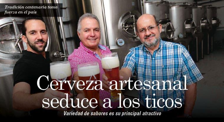 Cerveza artesanal seduce a los ticos