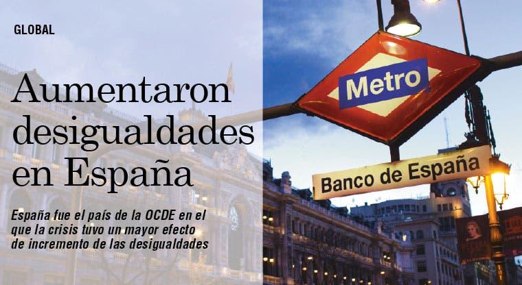 Aumentaron las desigualdades en España