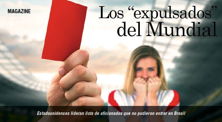 """Los """"expulsados"""" del Mundial"""