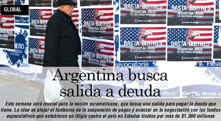 Argentina se ahoga por deuda