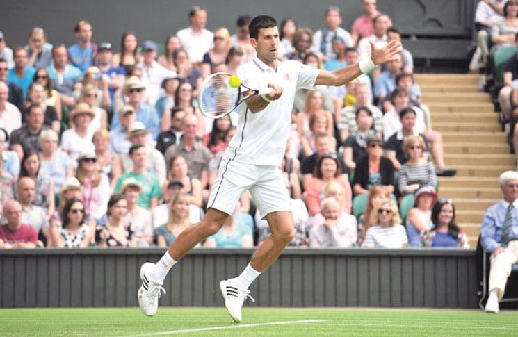 Djokovic intratable en el estreno