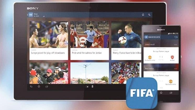 Aplicación del Mundial logra récord de descargas