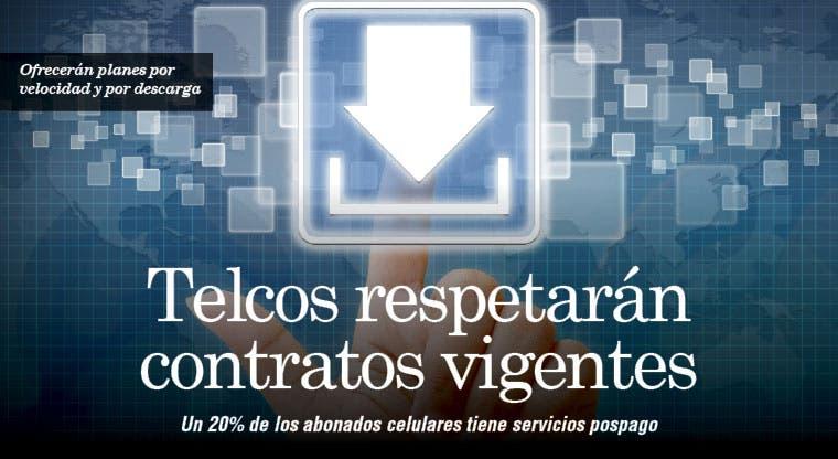 Telcos respetarán contratos vigentes
