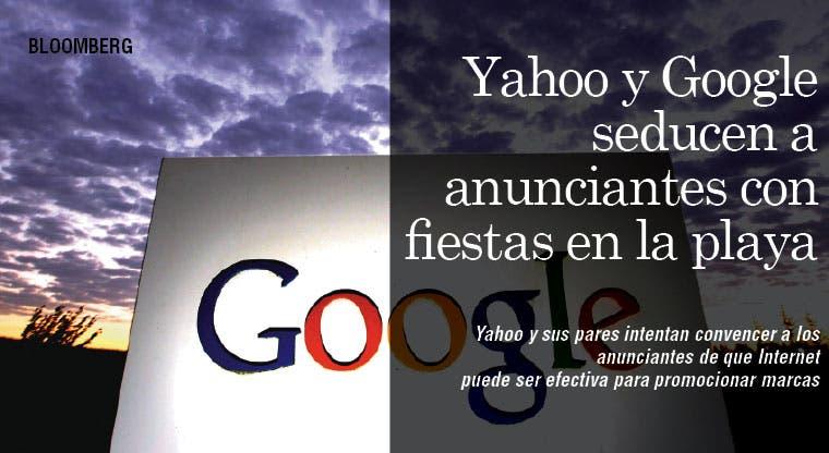 Yahoo y Google seducen a anunciantes con fiestas en la playa