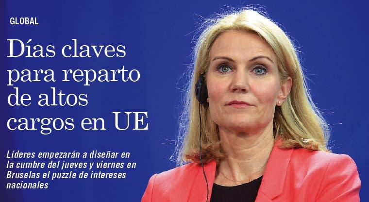 Días claves para reparto de altos cargos en UE