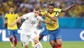 Ecuador no pudo con Francia