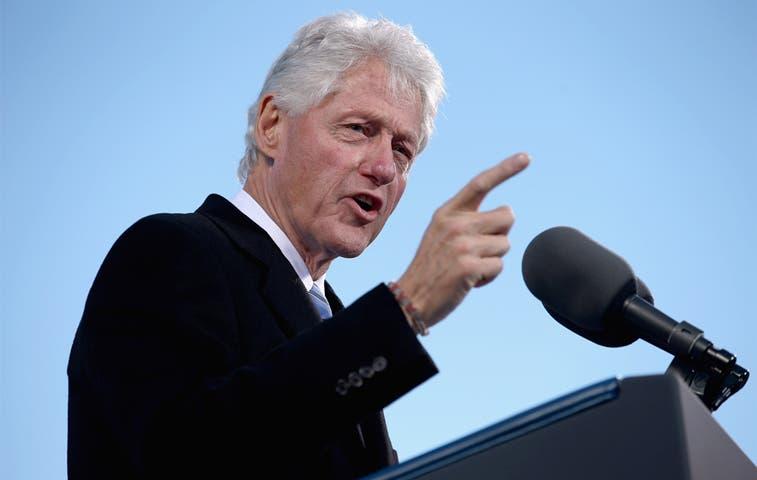 Bill Clinton estará en el país