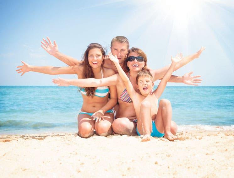 A la playa con los pequeños
