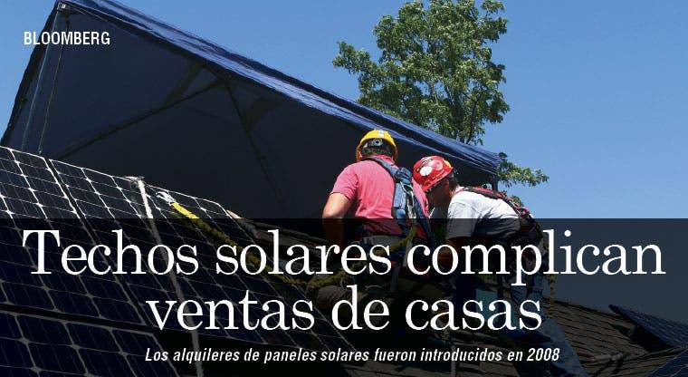 Contratos de alquiler de techos solares complican ventas de casas