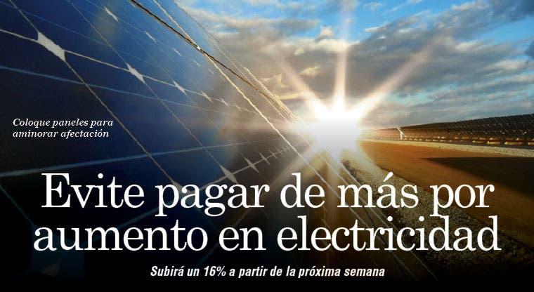 Evite pagar de más por aumento en electricidad