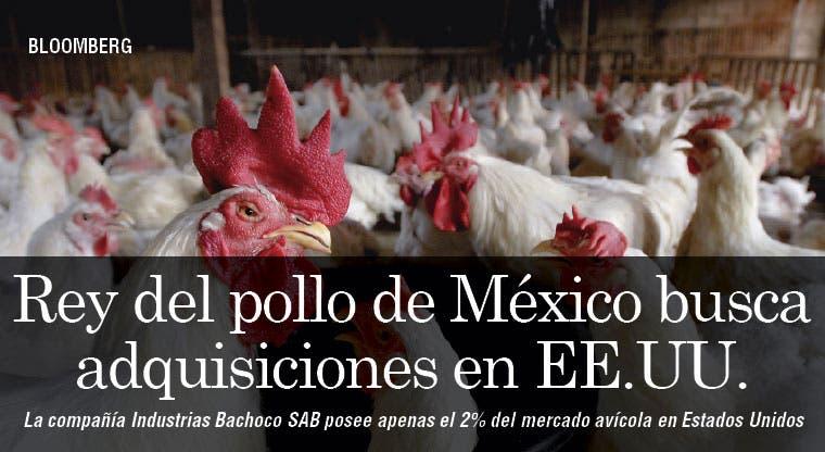 Rey del pollo de México busca adquisiciones en EE.UU.