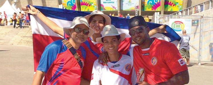 Éxodo de ticos en Brasil