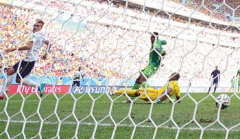 Francia sudó con Nigeria