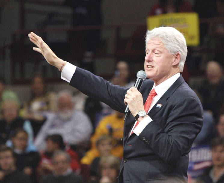 Bill Clinton hoy dicta conferencia de liderazgo en ULatina