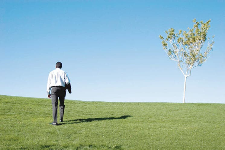 Ejecutivos imitan a Jobs en búsqueda de tiempo a solas