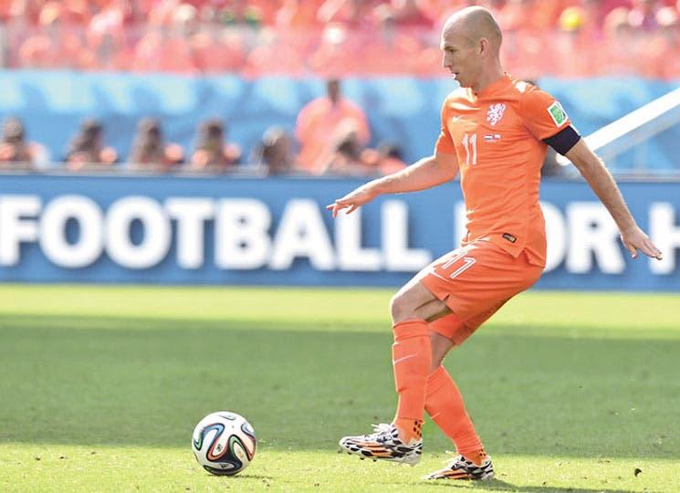 Un rompecabezas llamado Robben