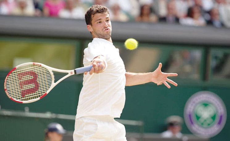 Dimitrov destrona a Murray