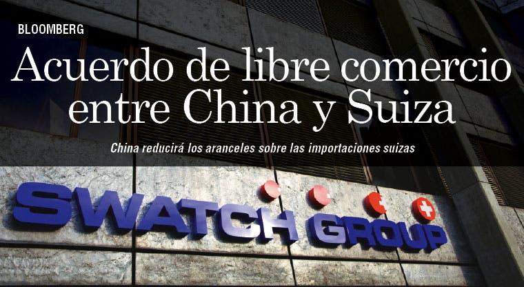 Empresas suizas aprovechan ventaja por acuerdo con China