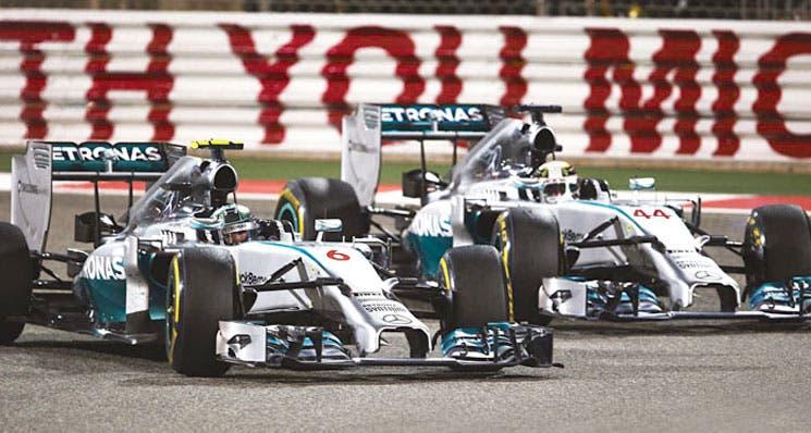 Mercedes busca agrandar su dominio