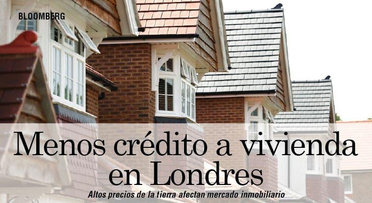 Precio de la tierra afecta mercado inmobiliario en Londres